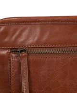 'Pirlo' Italian-Inspired Umber Brown Leather Document Case image 6