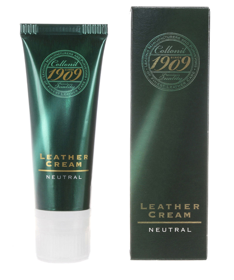 1909 75ml Neutral Leather Cream Pure Luxuries London