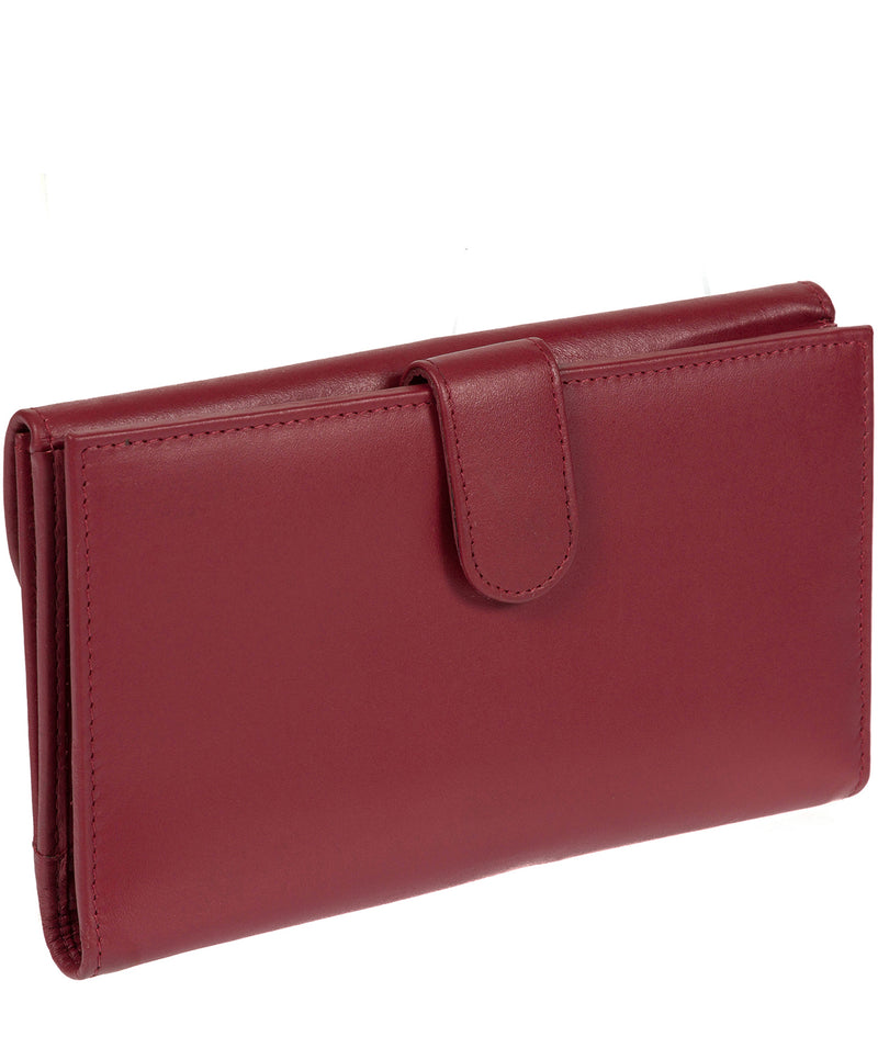 'Sardinia' Italian-Inspired Red Genuine Leather RFID Purse  image 5