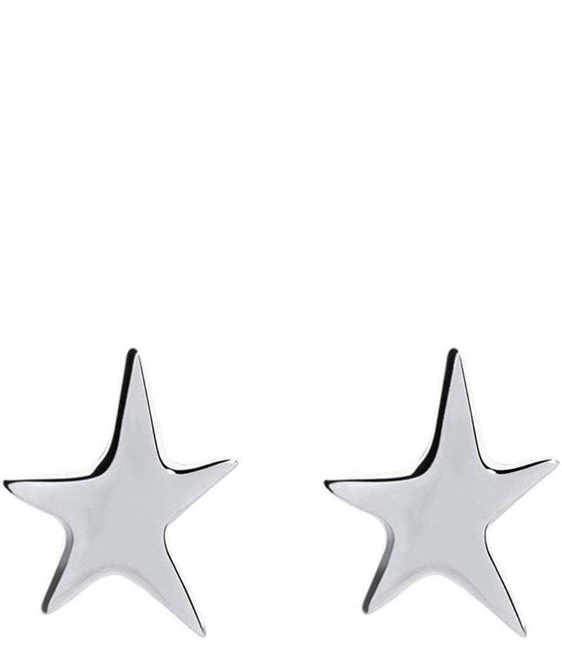 'Brittany' Sterling Silver Star Stud Earrings