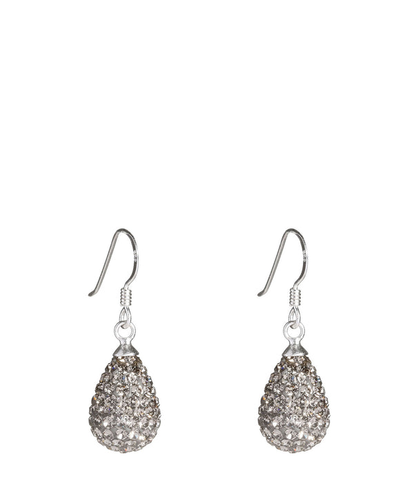 'Fumi' Silver Drop Earrings image 1