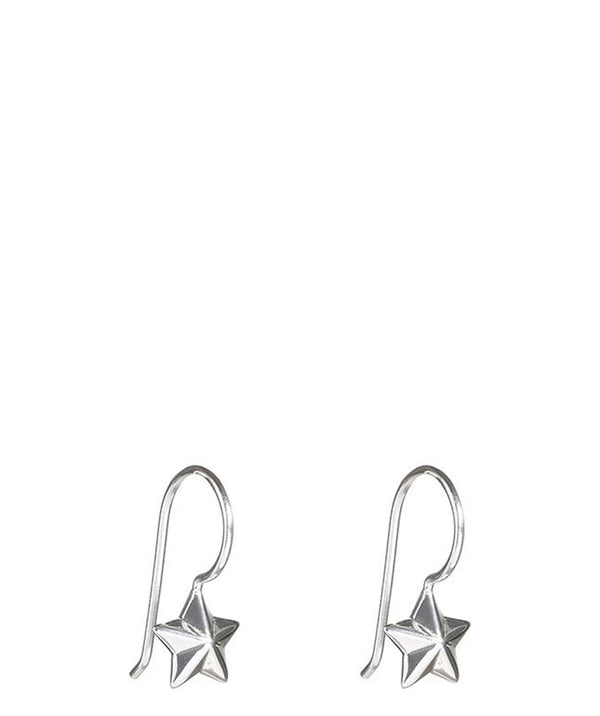 Gift Packaged 'Hachi' Sterling Silver Star Earrings