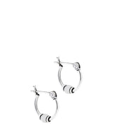 'Sanoh' Sterling Silver Tribal Bali Earrings image 1
