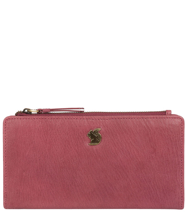 'Kittie' Orchid Leather Purse image 1