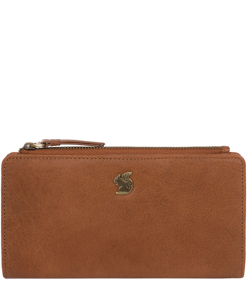 'Kittie' Tan Leather Purse image 1