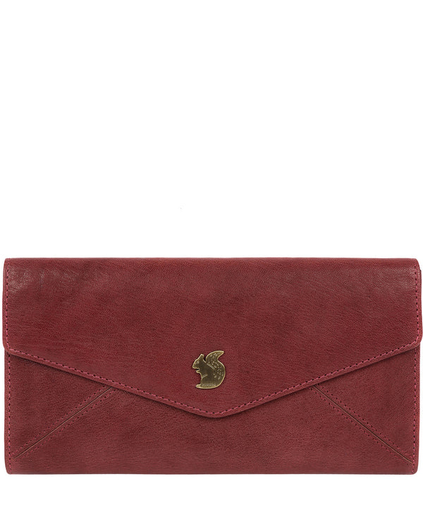 'Fion' Chilli Pepper Leather Tri-Fold Purse image 1