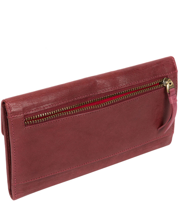 'Fion' Chilli Pepper Leather Tri-Fold Purse image 3
