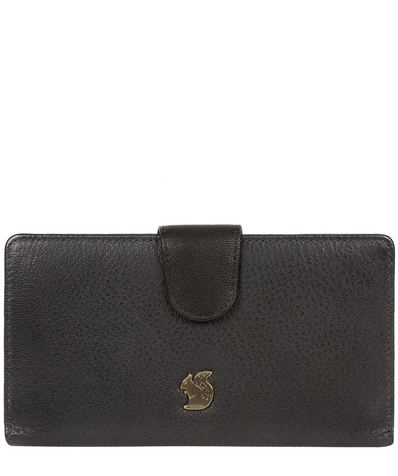 'Nisha' Black Leather Purse image 1