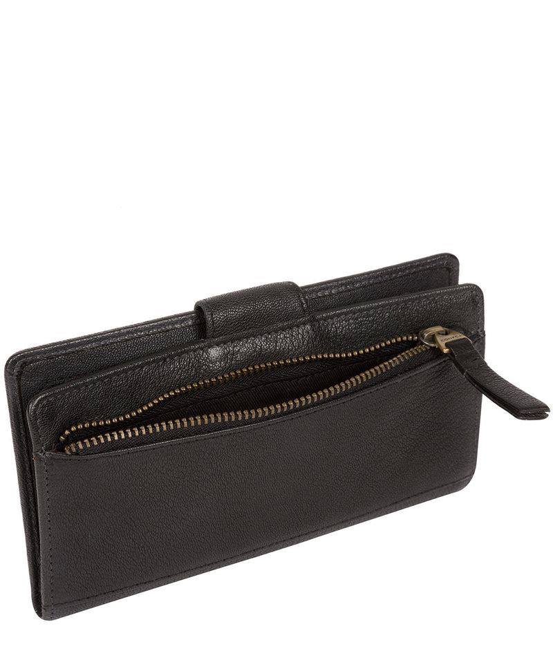 'Nisha' Black Leather Purse image 3