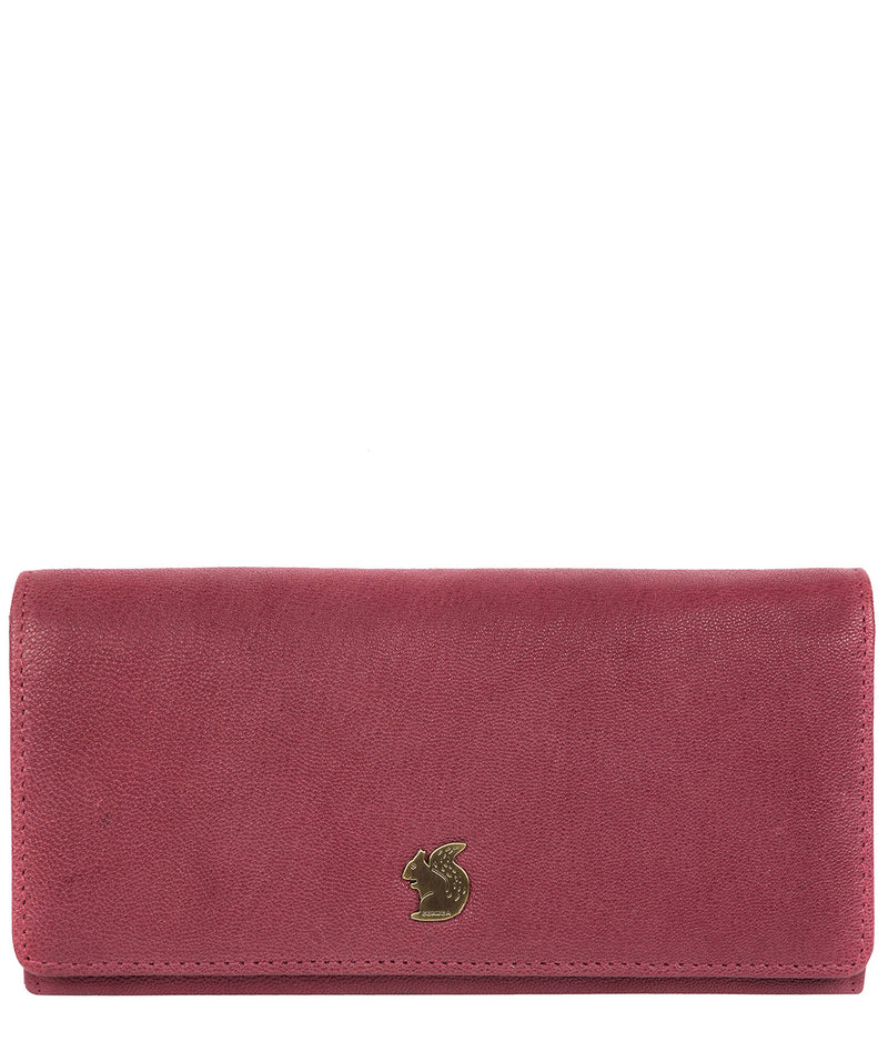 'Bloom' Orchid Leather Purse image 1