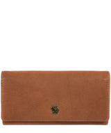 'Bloom' Tan Leather Purse Pure Luxuries London