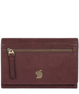 'Ling' Plum Leather Purse image 1