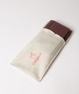 'Ling' Plum Leather Purse image 5