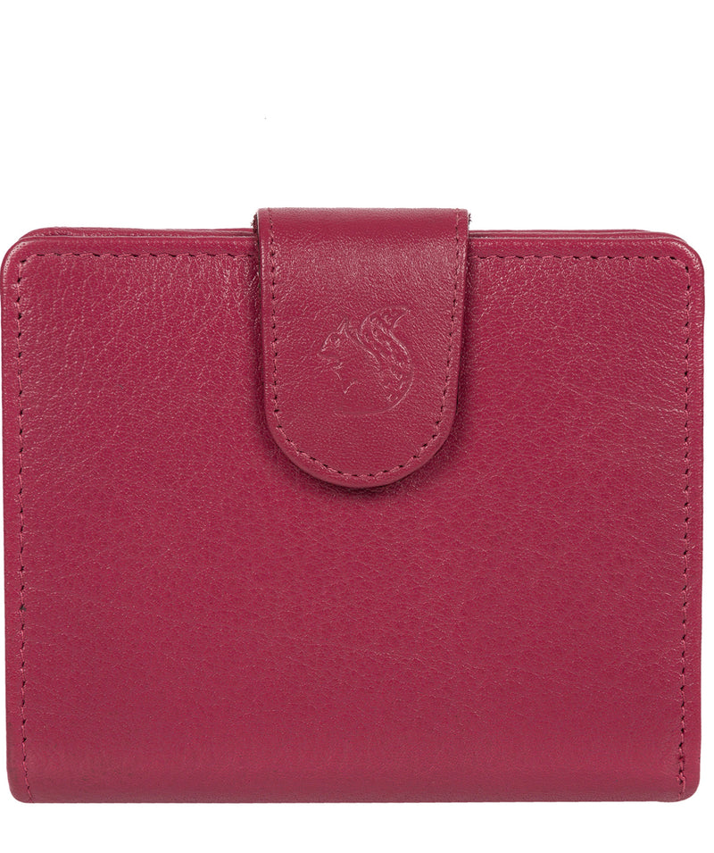 'Azaria' Orchid Bi-Fold Leather Purse image 1