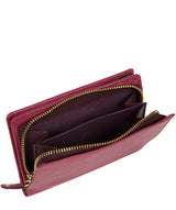 'Fran' Orchid Bi-Fold Leather Purse image 3