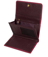 'Colleen' Orchid Tri-Fold Leather Purse image 3