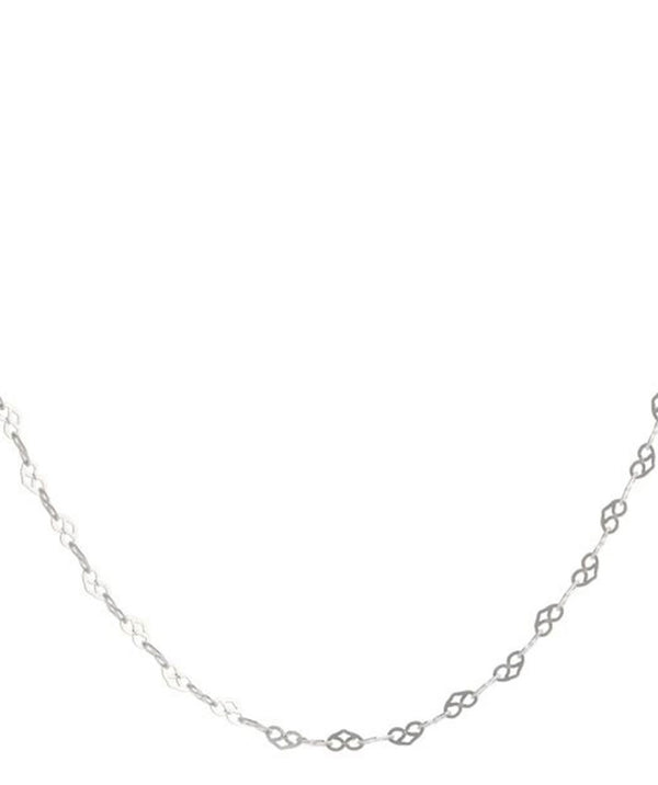 'Lindsay' 16-Inch Sterling Silver Heart Chain Necklace