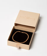 'Cybele' Sterling Silver Rose Gold Plated Bead Bracelet image 3