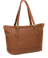'Truro' Tan Quality Leather Tote Bag image 3