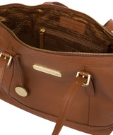 'Truro' Tan Quality Leather Tote Bag image 4