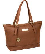 'Truro' Tan Quality Leather Tote Bag image 5