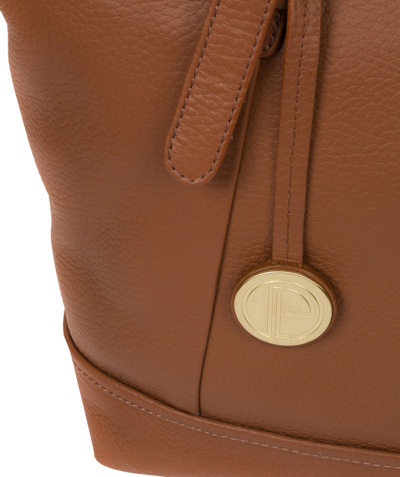 'Truro' Tan Quality Leather Tote Bag image 6