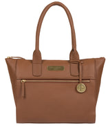'Yeovil' Tan Leather Tote Bag image 1
