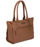 'Yeovil' Tan Leather Tote Bag image 3