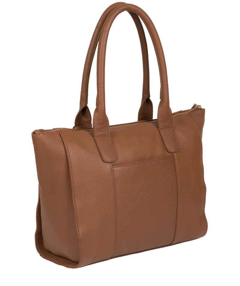 'Yeovil' Tan Leather Tote Bag image 6