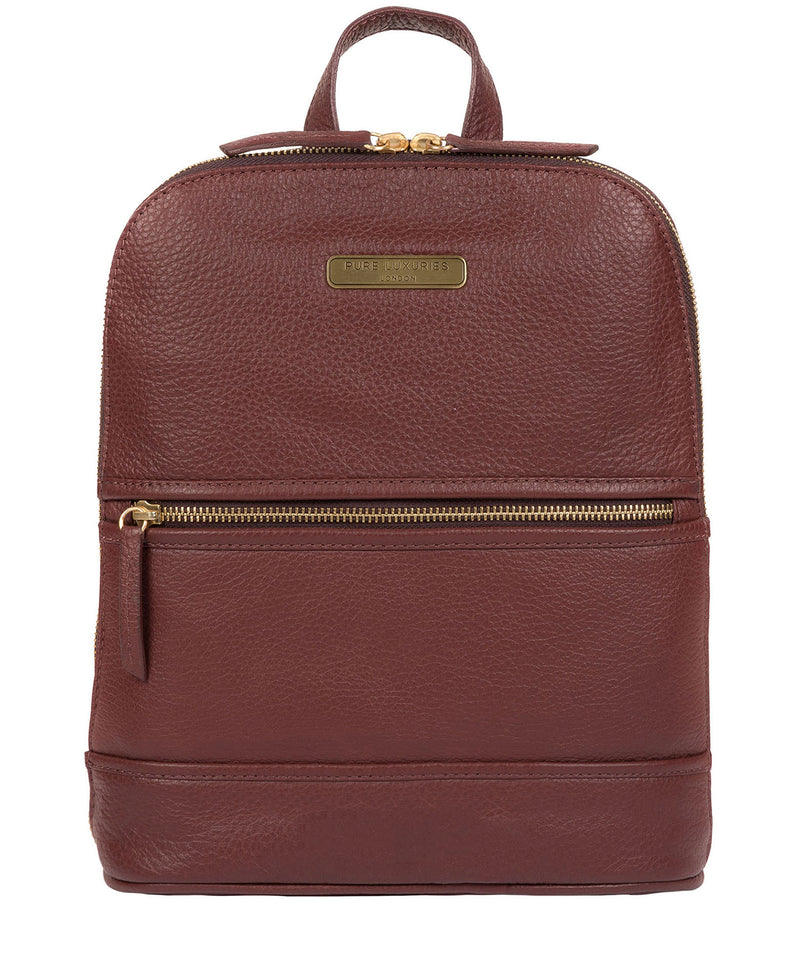 'Ellerton' Port Leather Backpack image 1