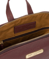 'Ellerton' Port Leather Backpack image 4