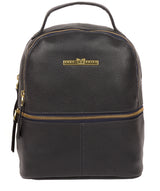 'Gloria' Midnight Blue Leather Backpack image 1