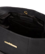 'Rachael' Midnight Blue Leather Shoulder Bag image 4