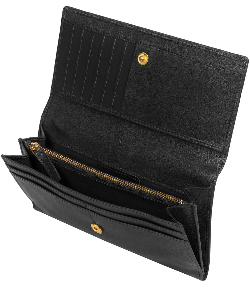 'Mayfair' Black Leather Purse image 3