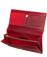 'Mayfair' Cherry Red Leather Purse image 3