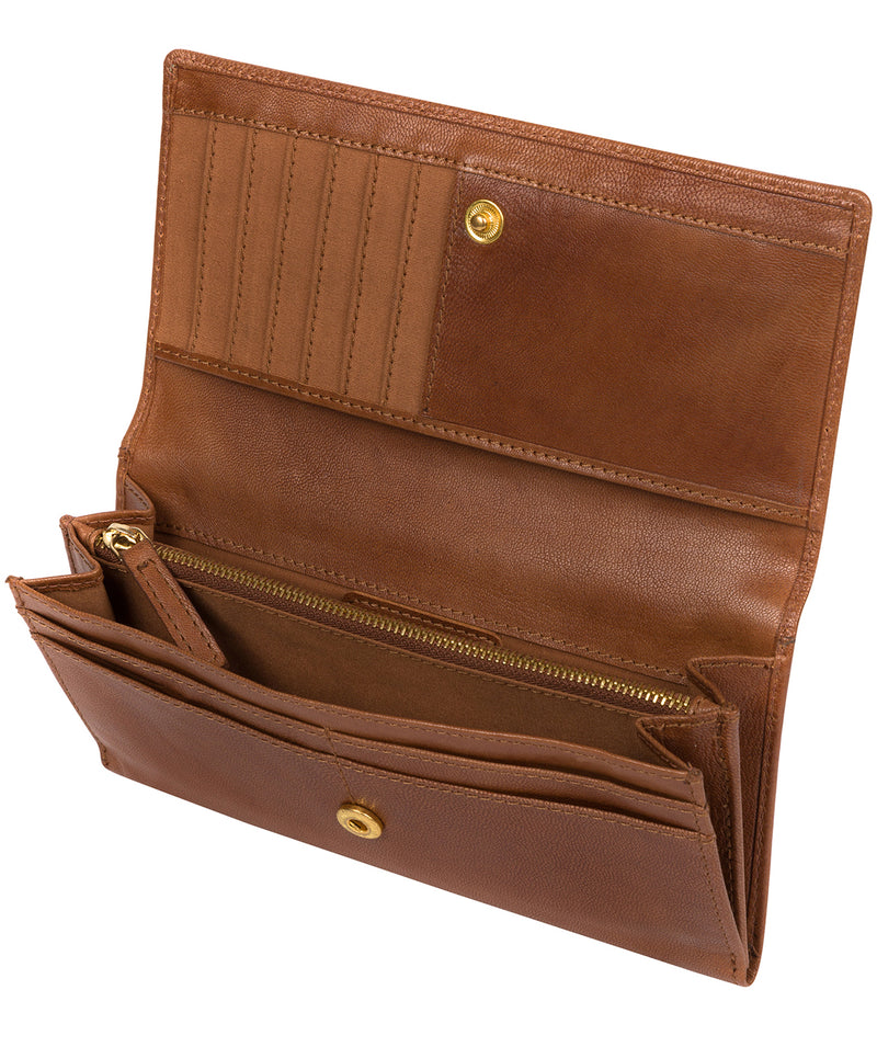 'Mayfair' Tan Leather Purse image 3