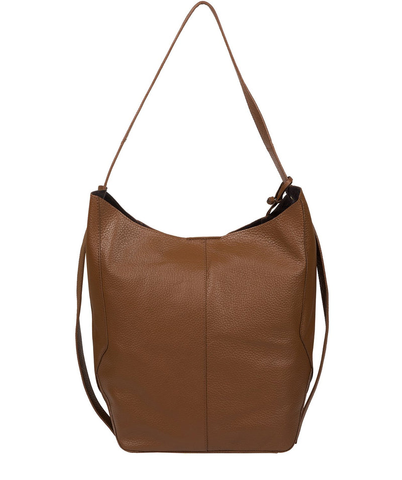 'Hoxton' Tan Leather Shoulder Bag image 3
