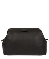 'Fender' Black Leather Washbag image 1