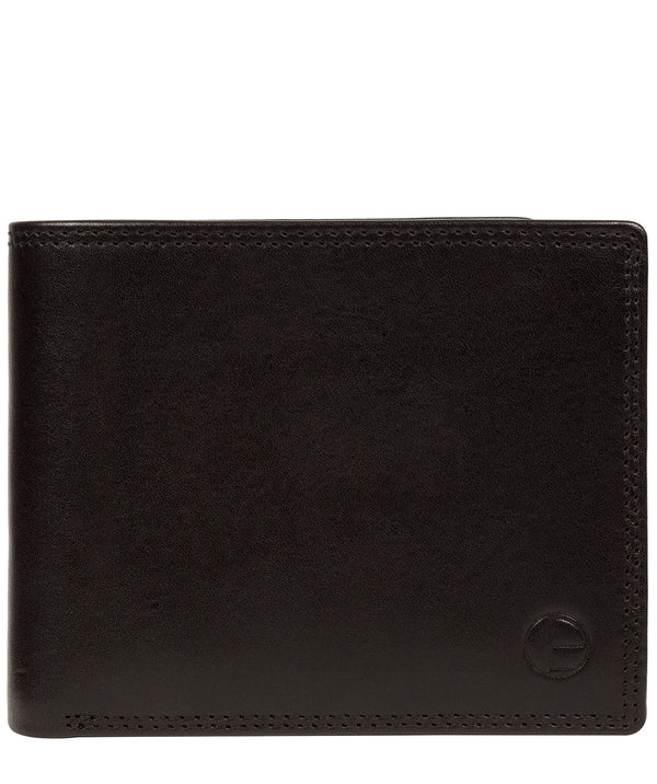 'Williams' Black Leather Wallet image 1
