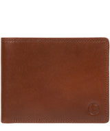 'Williams' Tan Leather Wallet Pure Luxuries London