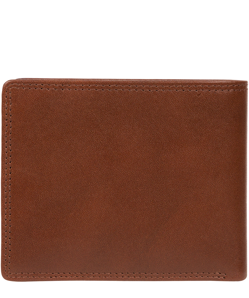 'Williams' Tan Leather Wallet image 6
