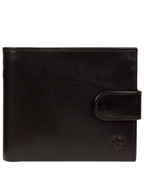 'Hooper' Black Leather Wallet image 1