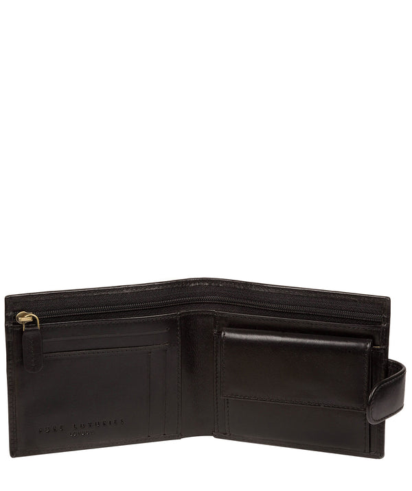 'Hooper' Black Leather Wallet image 2