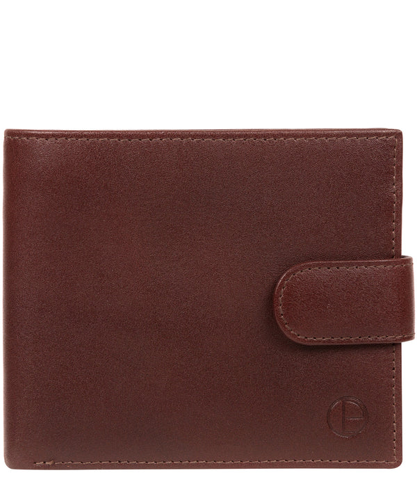 'Hooper' Brown Leather Wallet image 1