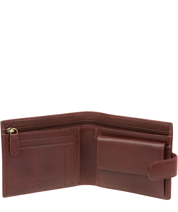 'Hooper' Brown Leather Wallet image 2