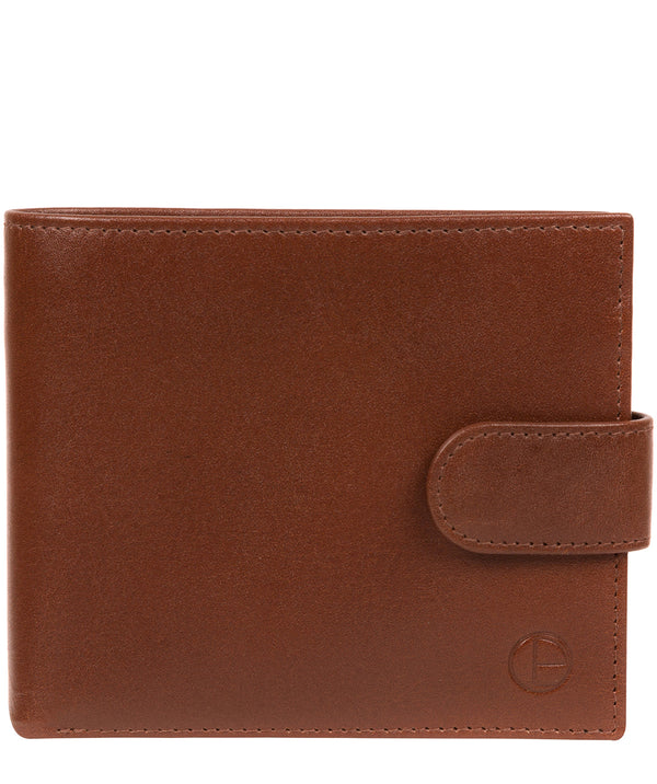 'Hooper' Tan Leather Wallet image 1
