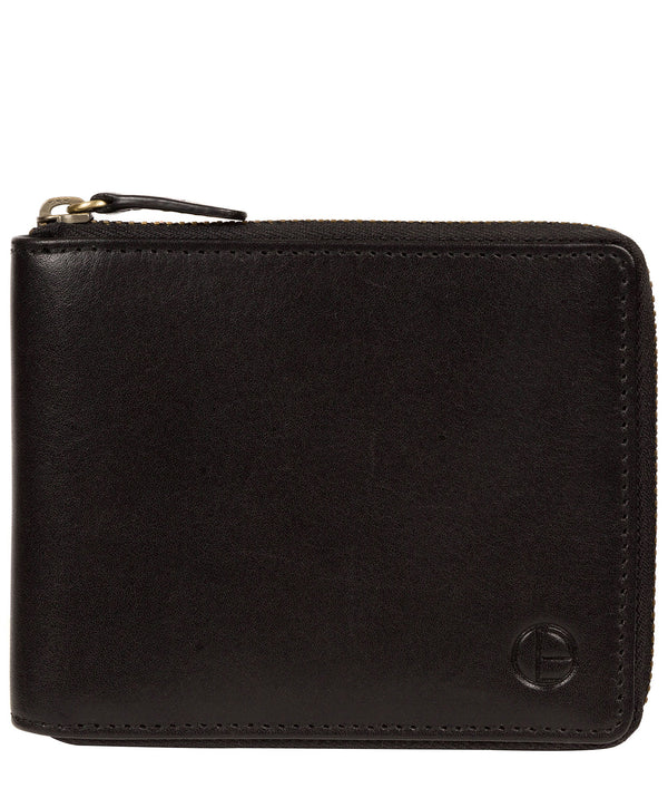 'Edwards' Black Leather Wallet image 1