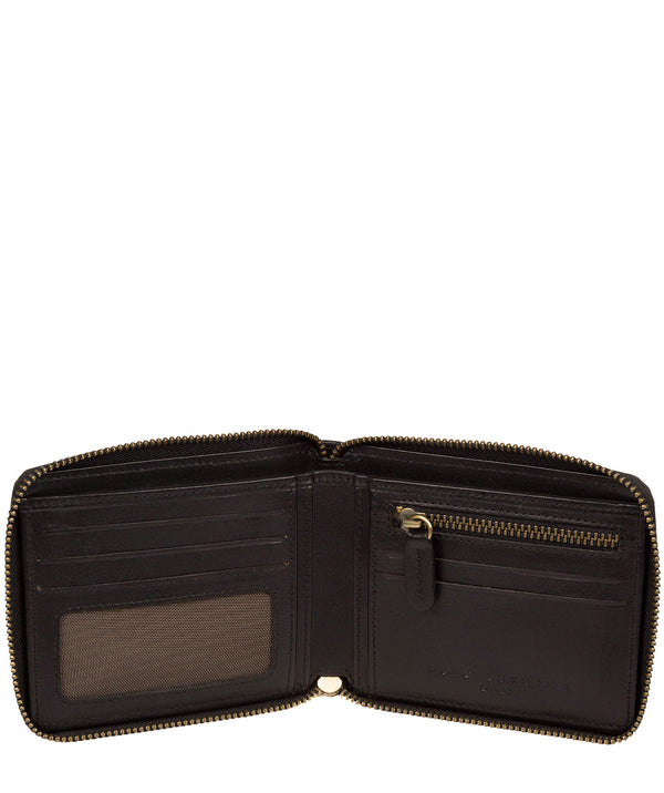 'Edwards' Black Leather Wallet image 2