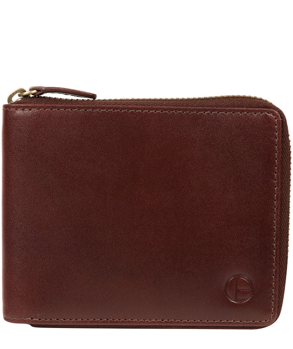 'Edwards' Brown Leather Wallet image 1