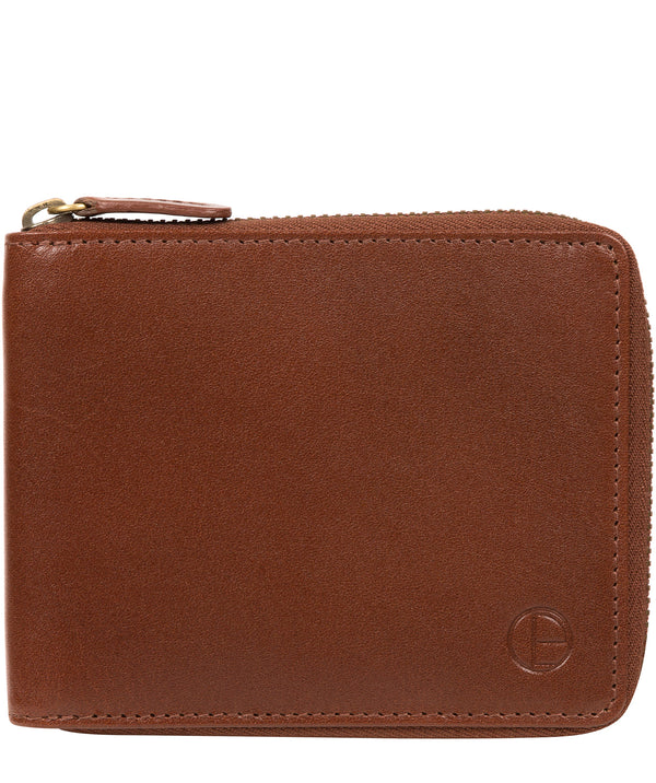'Edwards' Tan Leather Wallet image 1
